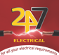 247 Electrical logo
